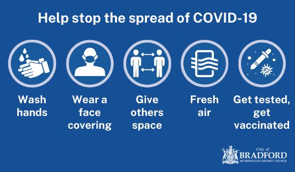 Stop the spread of COVID