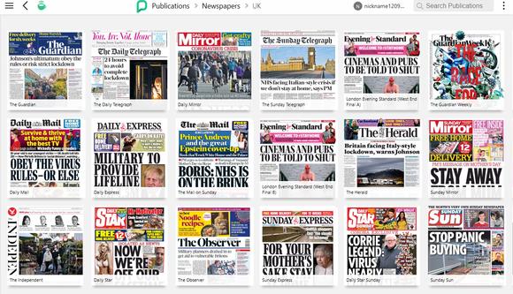 Newspapers on PressReader