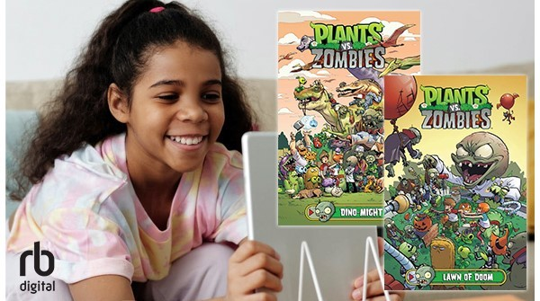 cover of Plants vs. Zombies comic