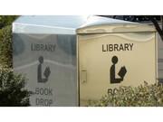 photo of a book return box
