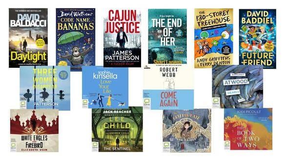 New BorrowBox ebook and e-audiobooks in November - book covers
