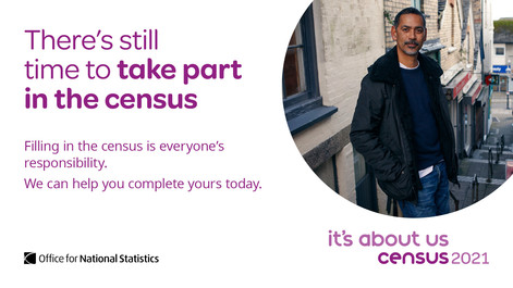 There's still time to complete the census