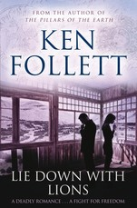 Book cover of Lie Down with Lions by Ken Follett