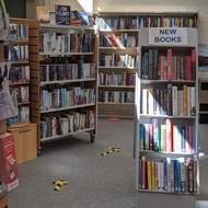 New book shelves