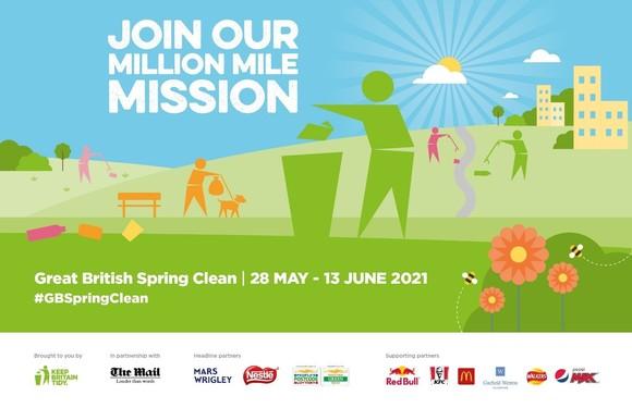 Great British Spring Clean 2021