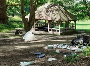 Lily Hill Park litter issue
