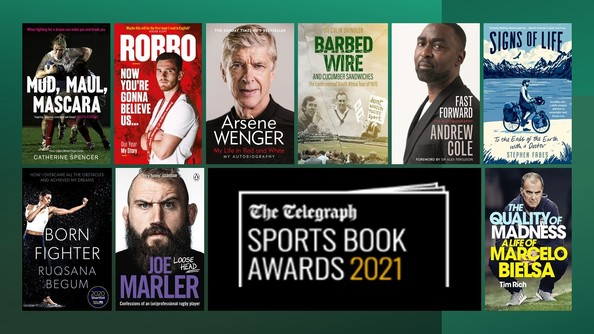books shortlisted for the Sports Book Awards 2021