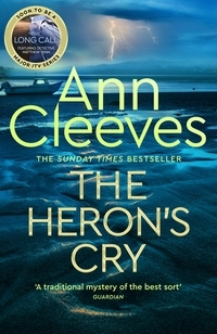 Book cover of Heron's Cry by Ann Cleeves