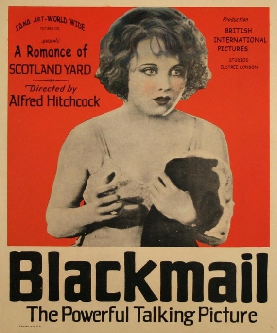 Blackmail old poster