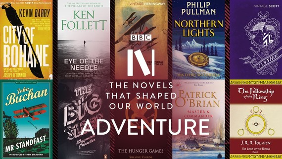 Book jackets for BBC Novels March