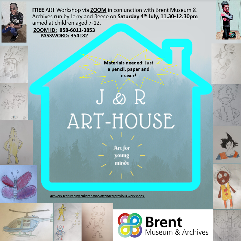 J&R arthouse zoom workshop flyer