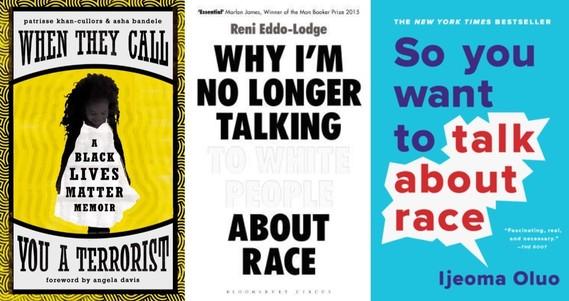 Black Lives Matter book jackets