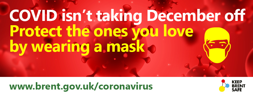 COVID isn't taking December off - wear a mask