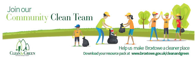 Join our community clean team