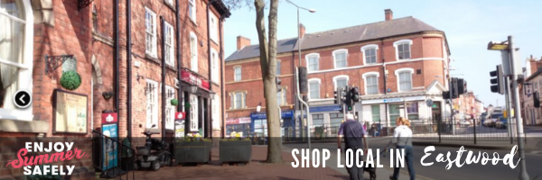 shop local eastwood banner
