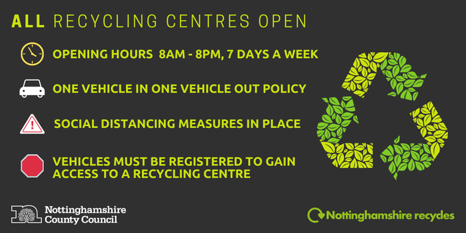 recycling centre update