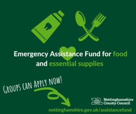 Emergency funding for food and essential supplies