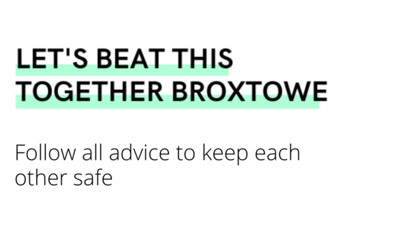 Let's beat this together Broxtowe - follow all safety advice to keep us all safe