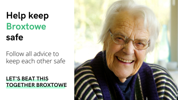 Help keep Broxtowe with image of elderly lady