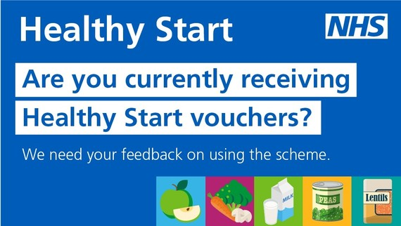 Healthy start, are you currently receiving healthy start vouchers with images of different foods