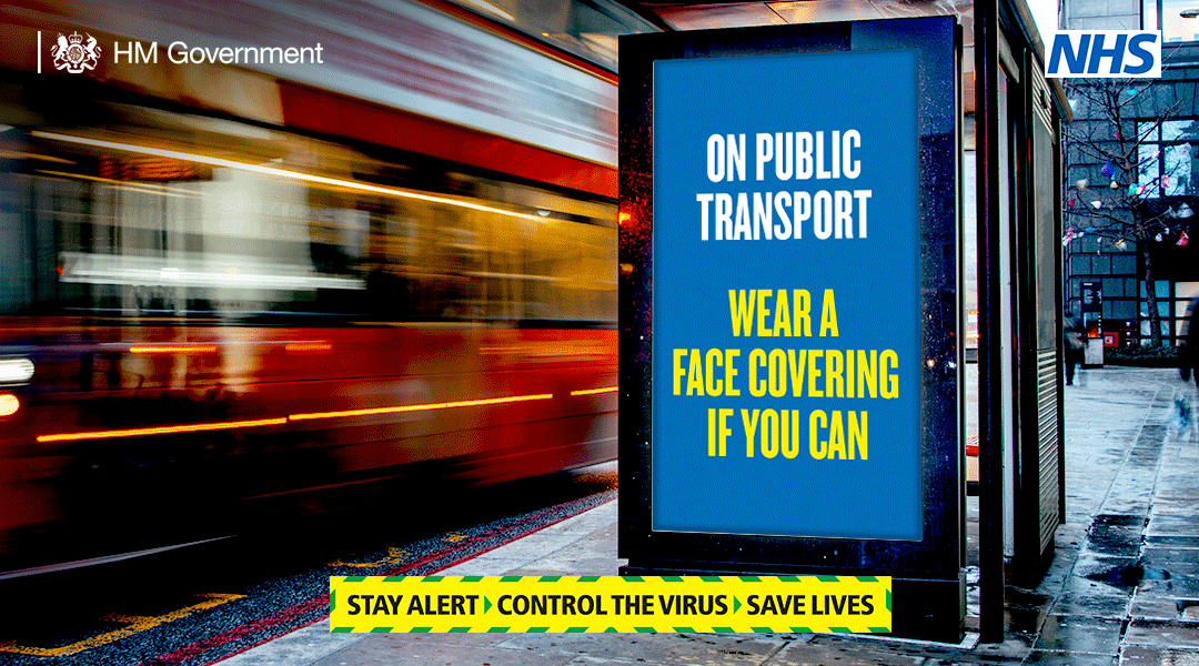 wear a face covering on public transport