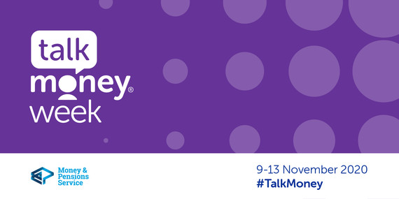 Talk money week banner