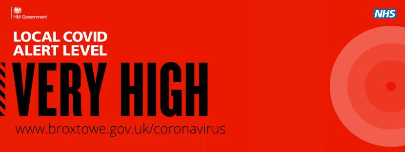 Very High Local COVID Alert Level