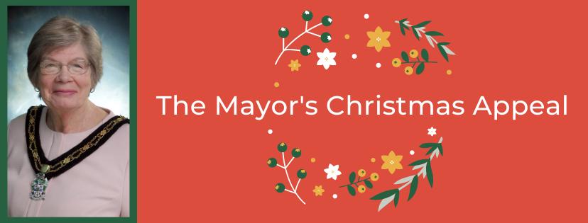 Mayor's christmas appeal banner