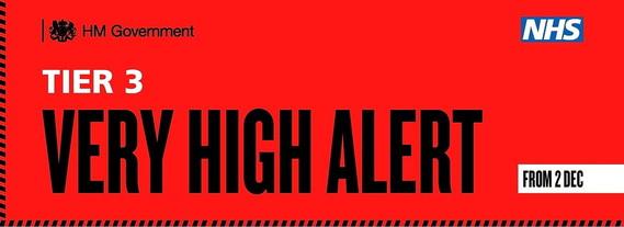 Tier 3 Very High Alert from 2 December