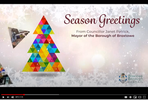 The Mayor's Virtual Christmas Card