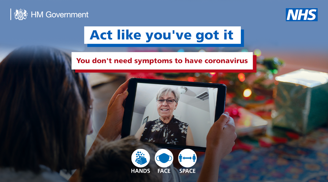 Act like you've got it you don't need symptoms to have coronavirus