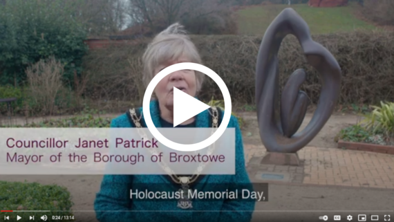 Click to view Holocaust Memorial Day service