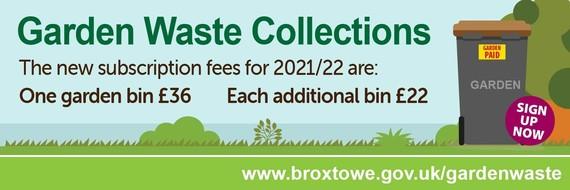 Garden Waste Information Banner Image