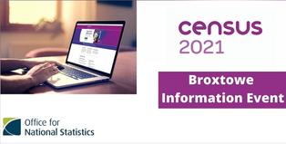 Census 2021 Broxtowe Information Event