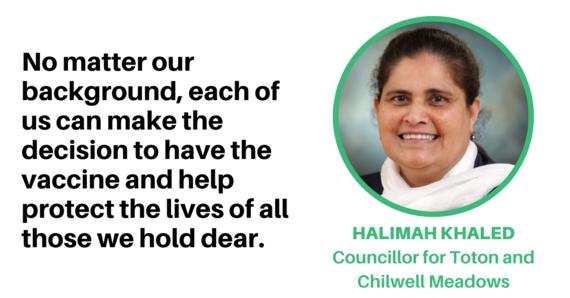 Councillor Halimah Khaled