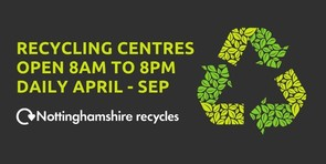 new recycling opening times