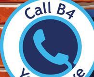 Call before you serve logo