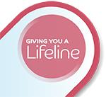 Giving you a lifeline logo