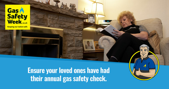 make sure your loved ones are gas safe