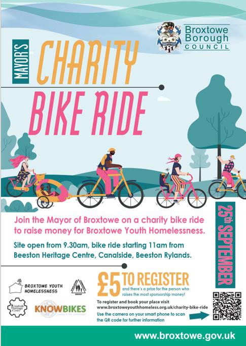 Charity bike