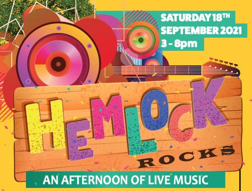 Hemlock Rocks 18th September 3-8pm