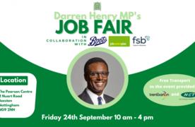 Darren Henry's Job Fair