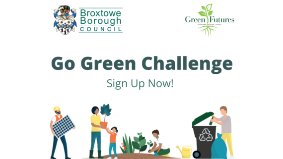 Go Green Challenge sign up now
