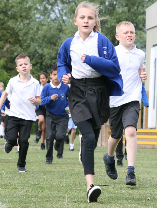 The Daily Mile Bassingbourn Primary School
