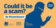 Scam awareness poster