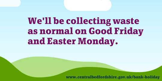 Easter waste collections