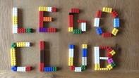 Words LEGO club made using lego