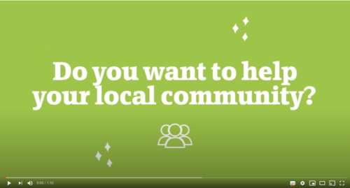 Do you want to be a Community Champion?
