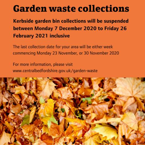 Garden waste collections