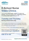 E school nurse poster